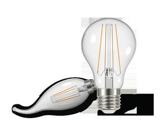 لامپ فیلامنت کملیون - خاموش